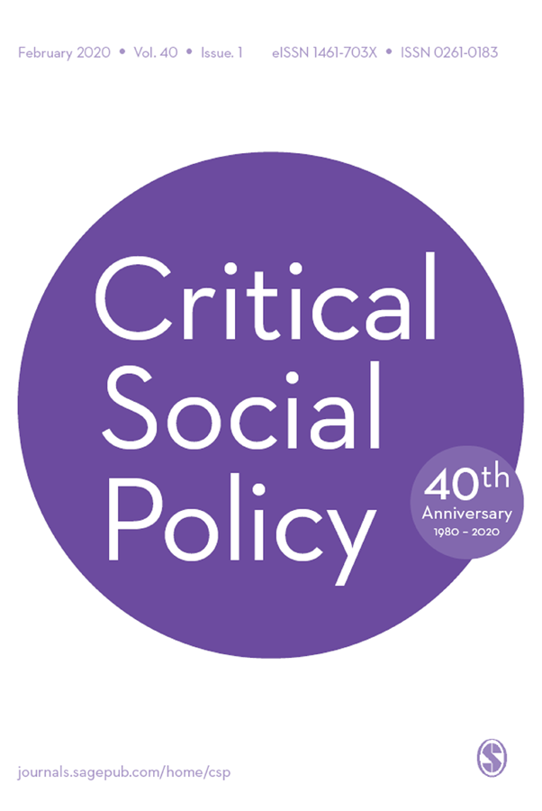 From Self-Government to Government of the Self: Fiscal Subjectivity, Indigenous Governance and the Politics of Transparency, critical social policy, colonialism, transparency, indigenous citizenship